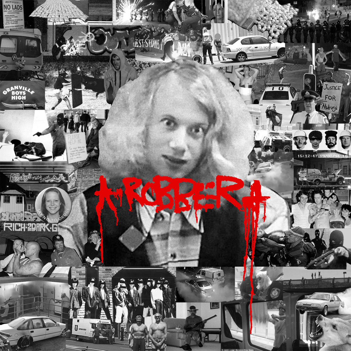 ROBBER - ROBBER LP - Black Wire Records